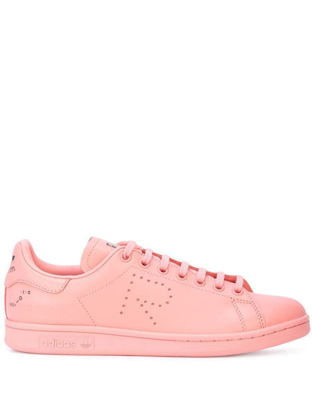 Pink X Raf Simons Stan Smith Leather Sneakers