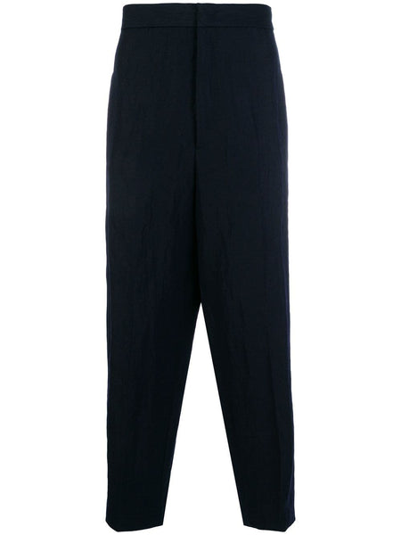 High Waist Drop Crotch Trousers