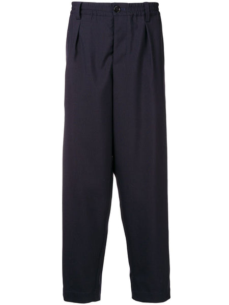 Loose Fit Darted Trousers