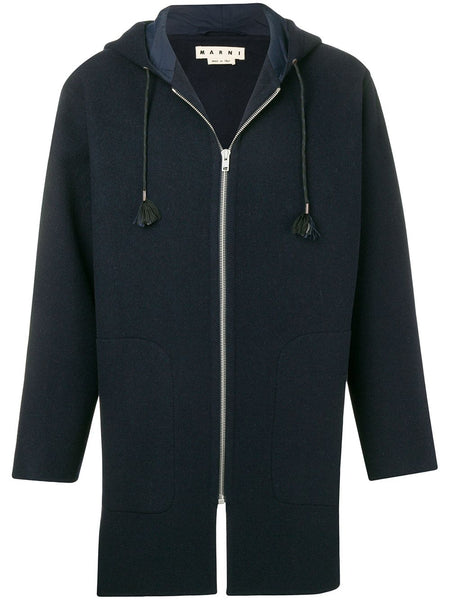 Zip-Up Duffle Coat
