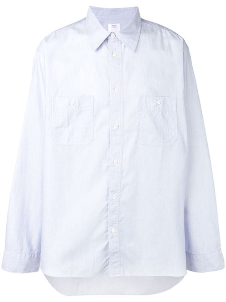 Long-Sleeve Fitted Shirt