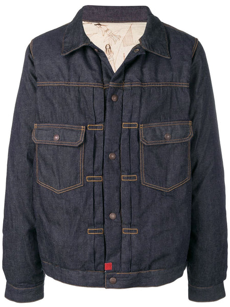 Padded Denim Jacket