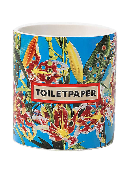 Toiletpaper Flower Candle