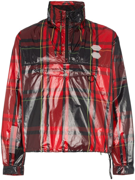 Tartan Zip Neck Jacket