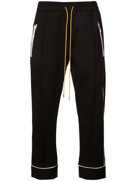 Contrasting Trim Track Trousers