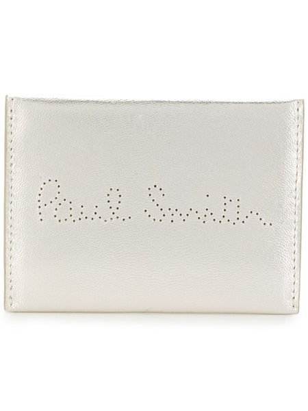 Logo Perforated Cardholder