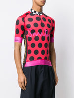 Contrast Print Racing Shirt