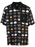 UFO Pattern Camp Shirt