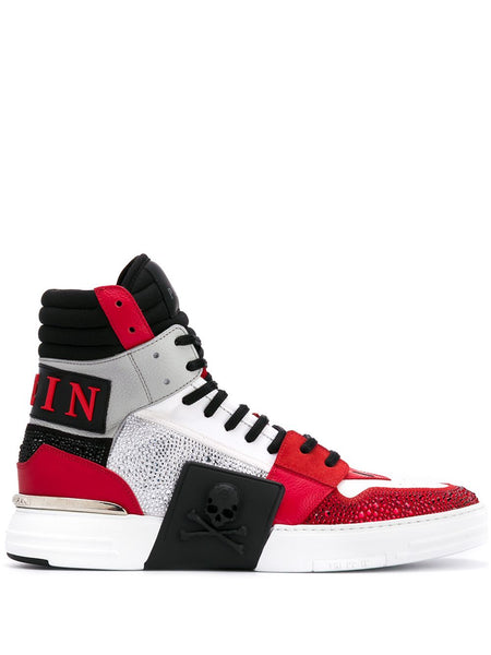 Contrast Hi-Top Sneakers