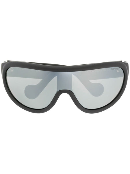 Sports Shield Curved Sunglasses