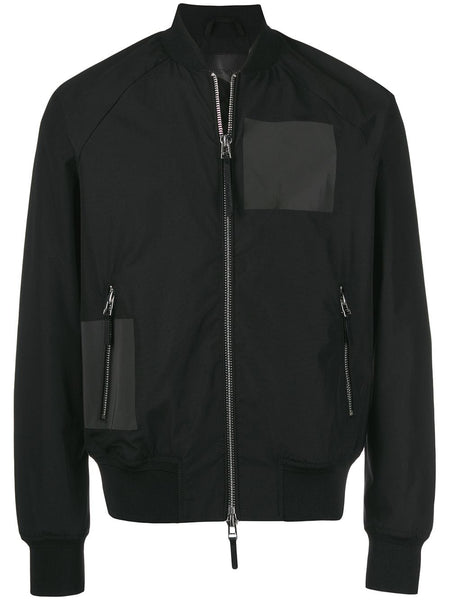 Plain Bomber Jacket