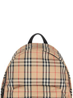 Vintage Check Nylon Backpack