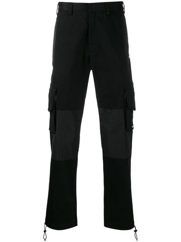 Marcelo Burlon Black Cargo Pants