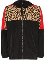 Leopard Block Windbreaker