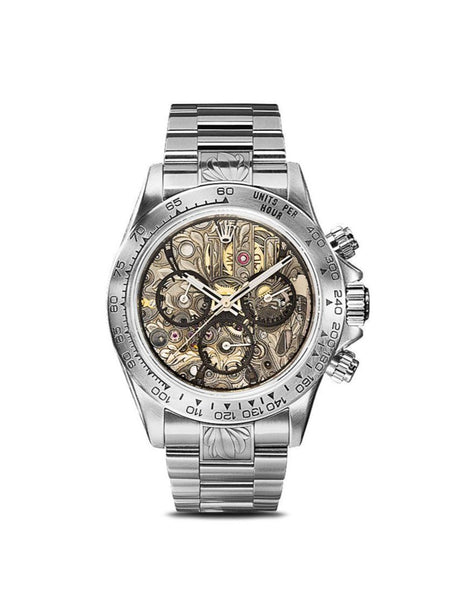 Customised Rolex Daytona Openwork SK II 40mm