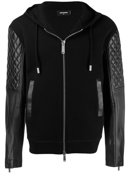 Zipped Hooded Jacket