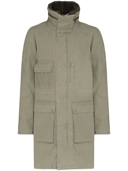 Hunter Stand-Collar Parka