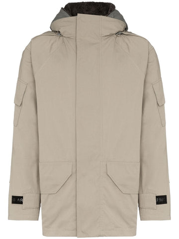 Yves Salomon Lamb Skin Reversible Jacket