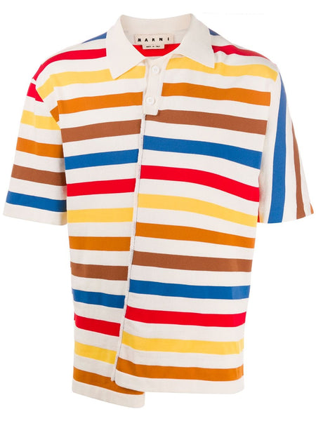 Reconstructed Polo Shirt