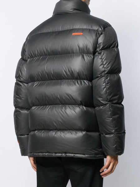 Heron Preston Padded Black Logo Jacket