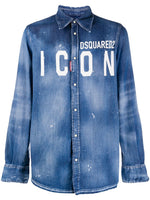Icon Logo Denim Shirt