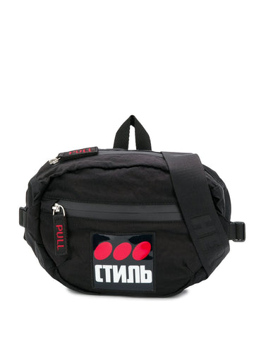 Heron Preston Black Belt Bag