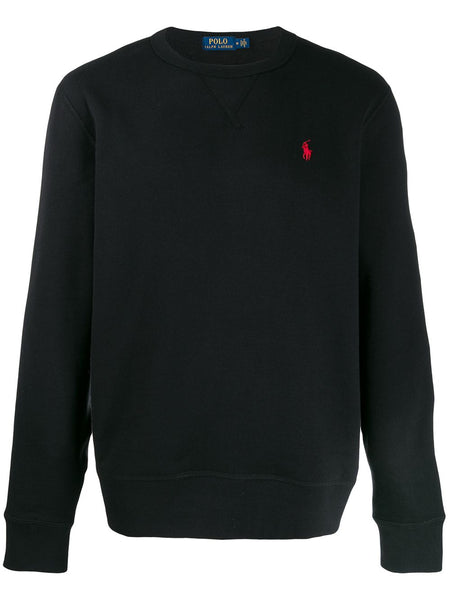 Black Pony Player Sweatshirt