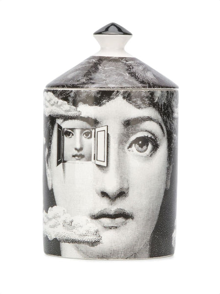 Face-Print Pot Candle