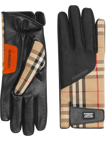 Burberry London Vintage Check Gloves