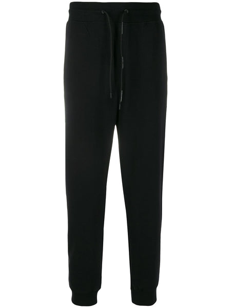 Cropped Drawstring Track Pants