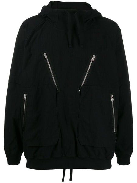 Hooded Sports Jumper