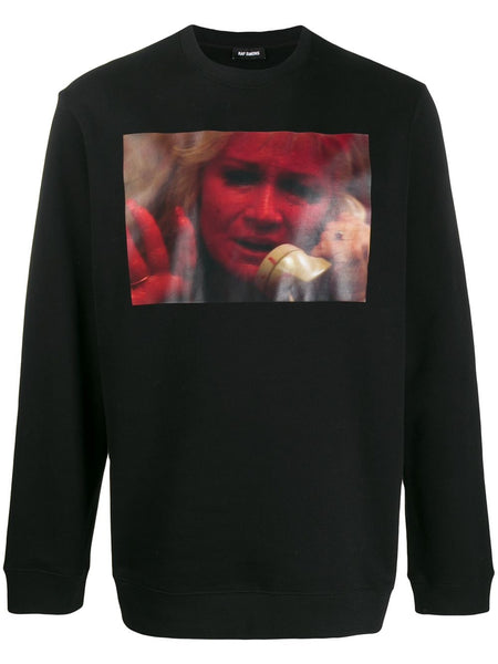 Photographic-Print Sweatshirt