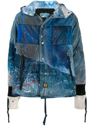 Greg Lauren Painted Parka Jacket