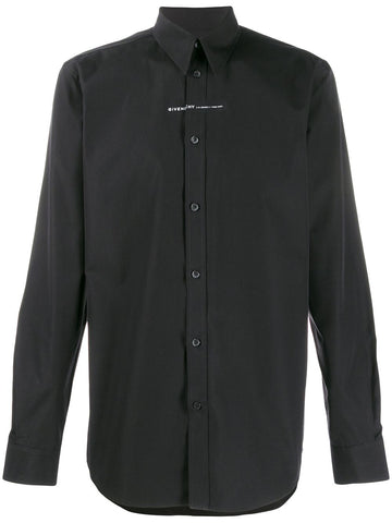 Givenchy Long Sleeve Black Shirt