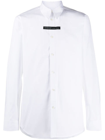 Givenchy Long Sleeve White Shirt