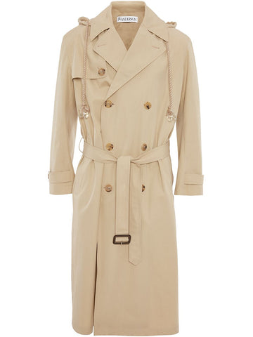 JW Anderson Hooded Trench Coat