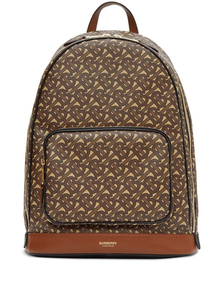 Monogram Print Backpack
