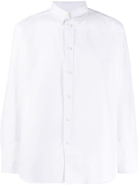 Logo Print Oxford Shirt