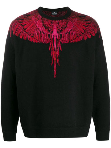 Marcelo Burlon Wings Knitted Jumper
