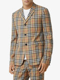 Vintage Check Tailored Blazer