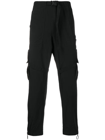 Off White Cargo Sweatpant Black