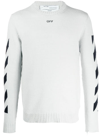 Off White Arrows Intarsia Arrows Knit