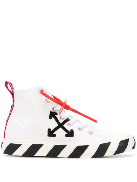 Arrows Patch High-Top Sneakers