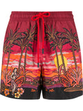 Sun Set Swim Shorts
