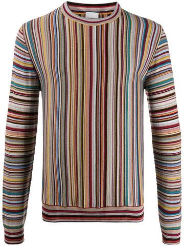 Paul Smith Stripped Knitted Jumper