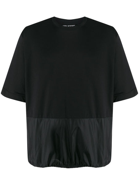 Panelled Relaxed-Fit T-Shirt