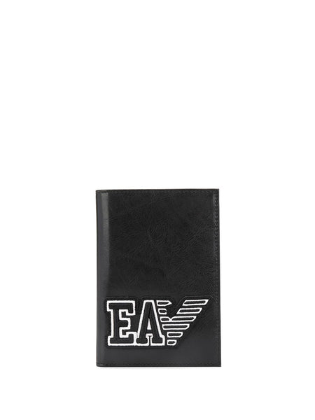 Logo Patch Passport Holder