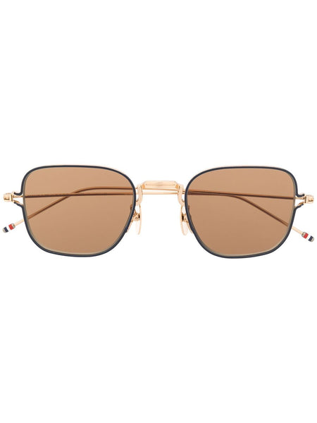 Thin Squared Sunglasses