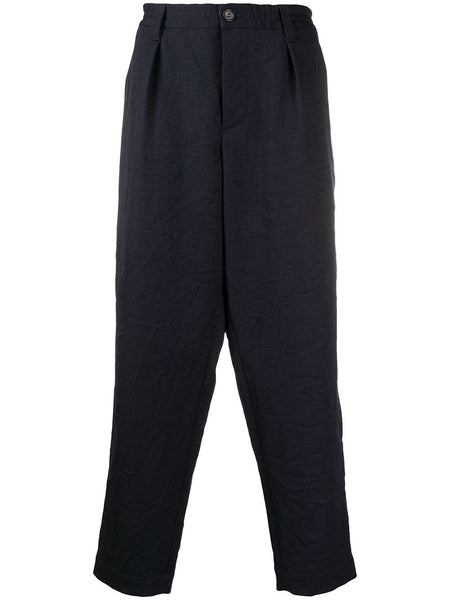 Creased Effect Trousers