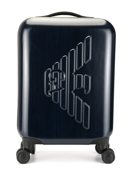 Raised Logo Suitcase